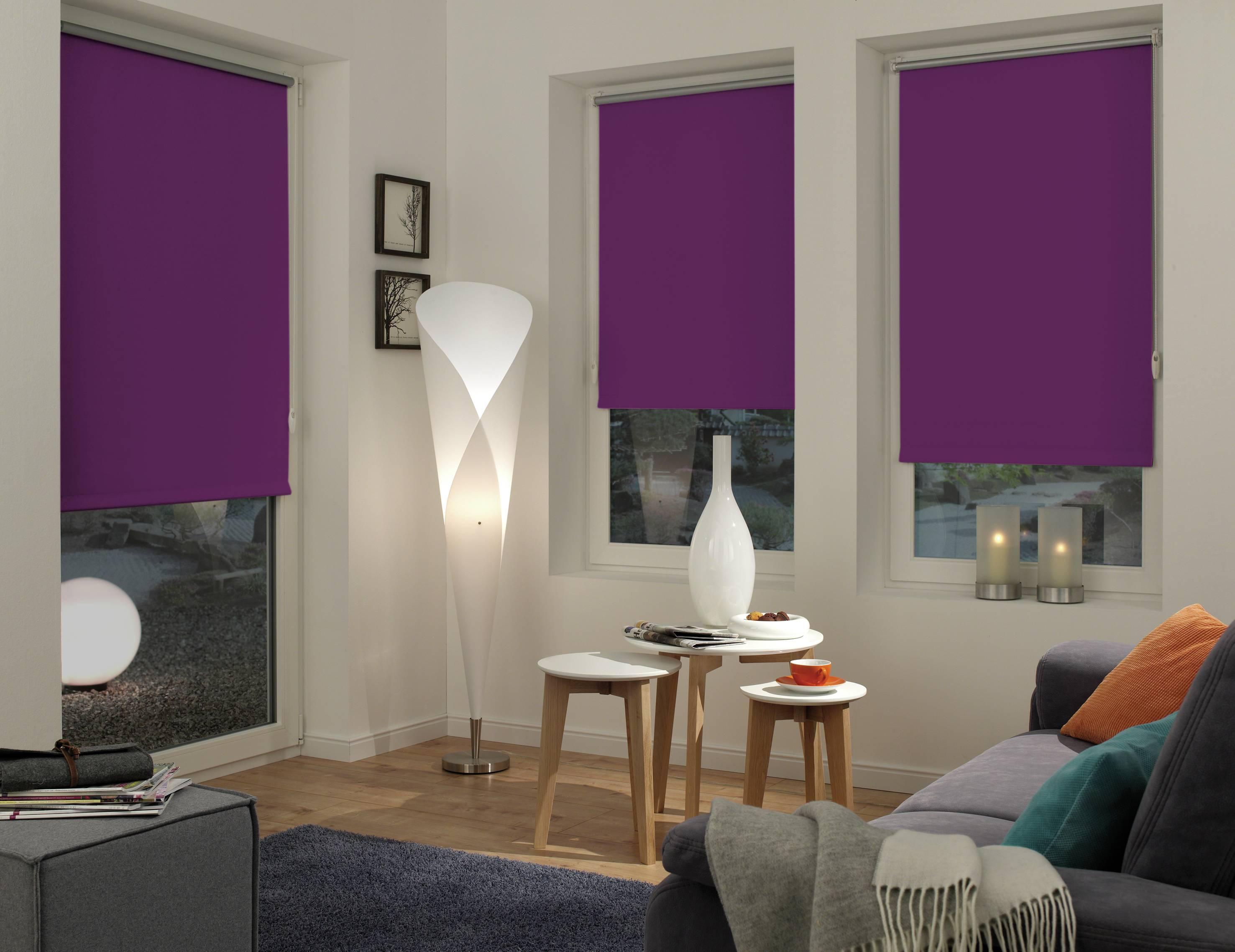 easyfix rollo thermo lila 75 x 150 cm 12548. Black Bedroom Furniture Sets. Home Design Ideas