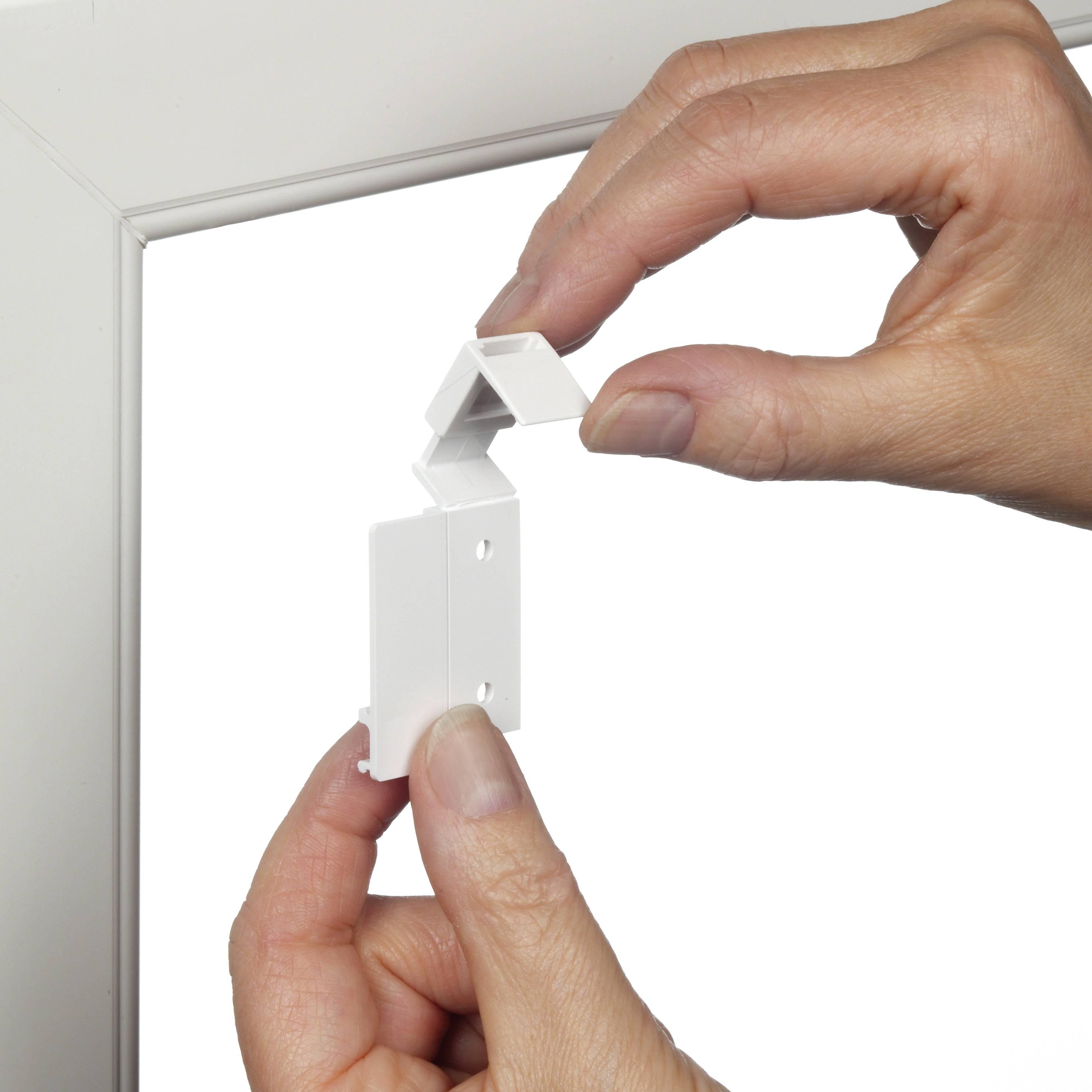 easyfix rollo streifen wei wei 100 x 150 cm 33027. Black Bedroom Furniture Sets. Home Design Ideas