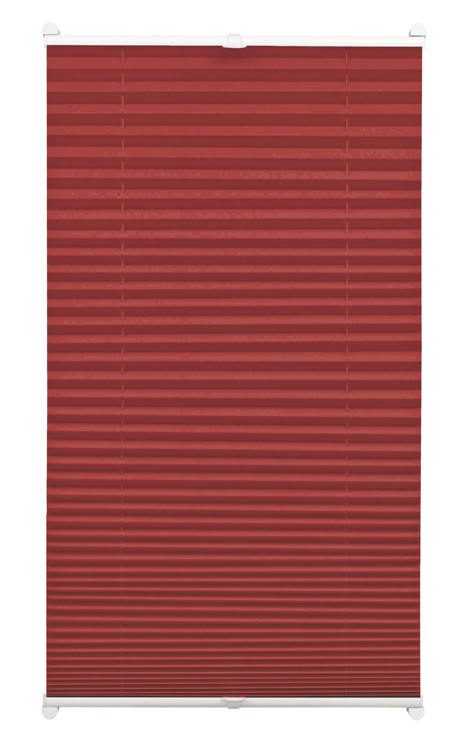 easyfix plissee bordeauxrot 60 x 130 cm 33082. Black Bedroom Furniture Sets. Home Design Ideas