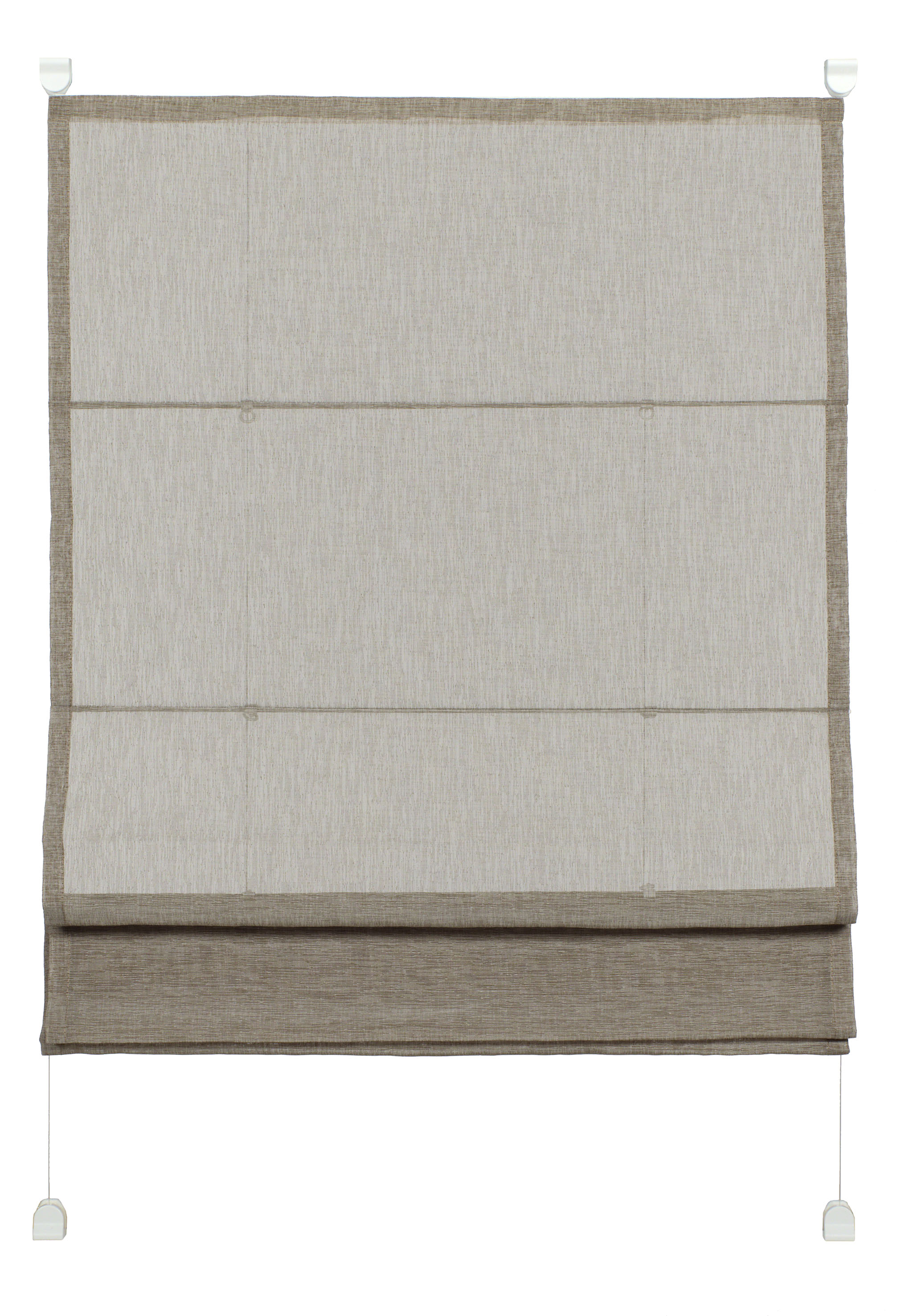 easyfix raffrollo transparent 70 x 140 cm kaffee 33928. Black Bedroom Furniture Sets. Home Design Ideas