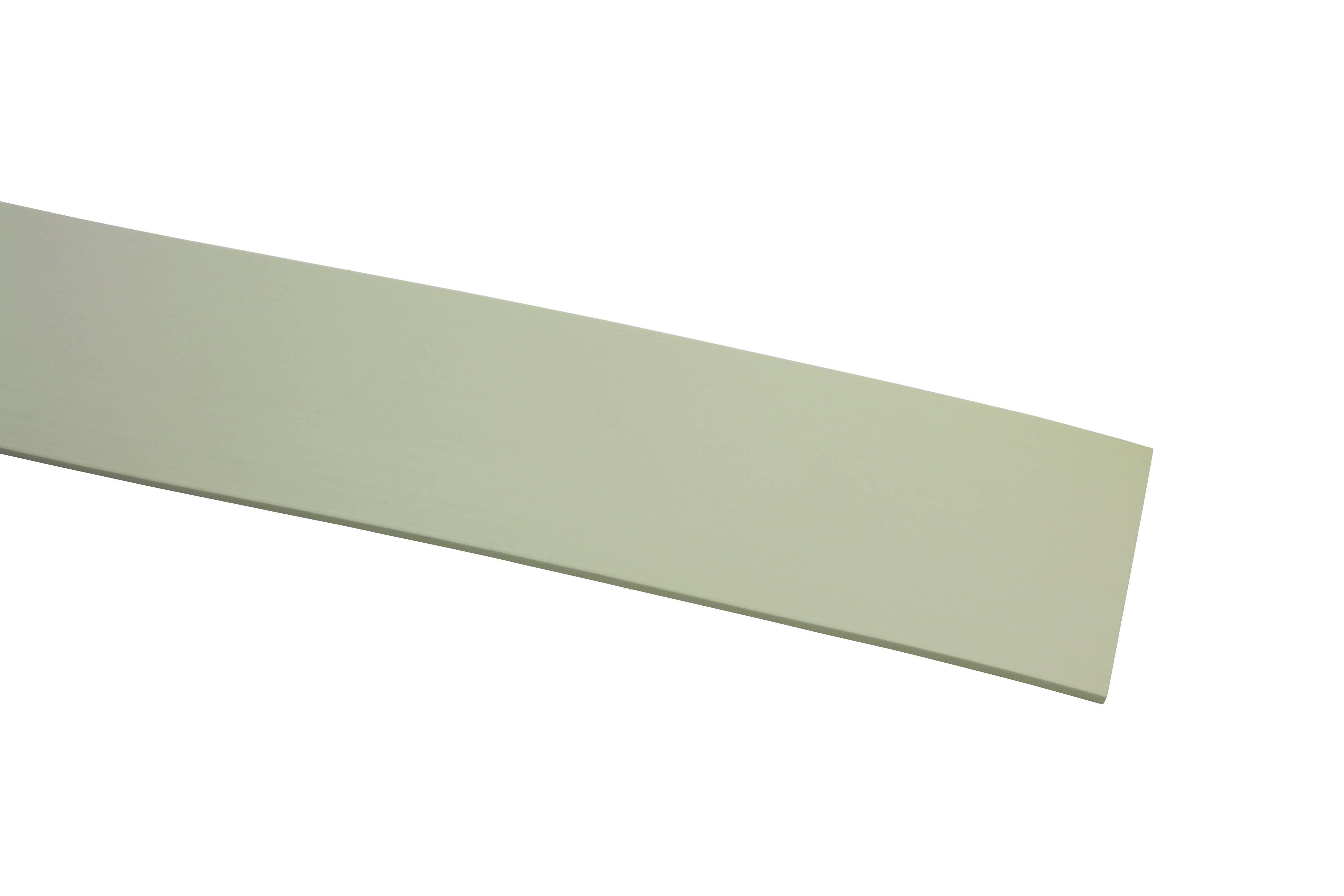 kunststoff blende wei 7 cm 25 meter rolle 8485. Black Bedroom Furniture Sets. Home Design Ideas