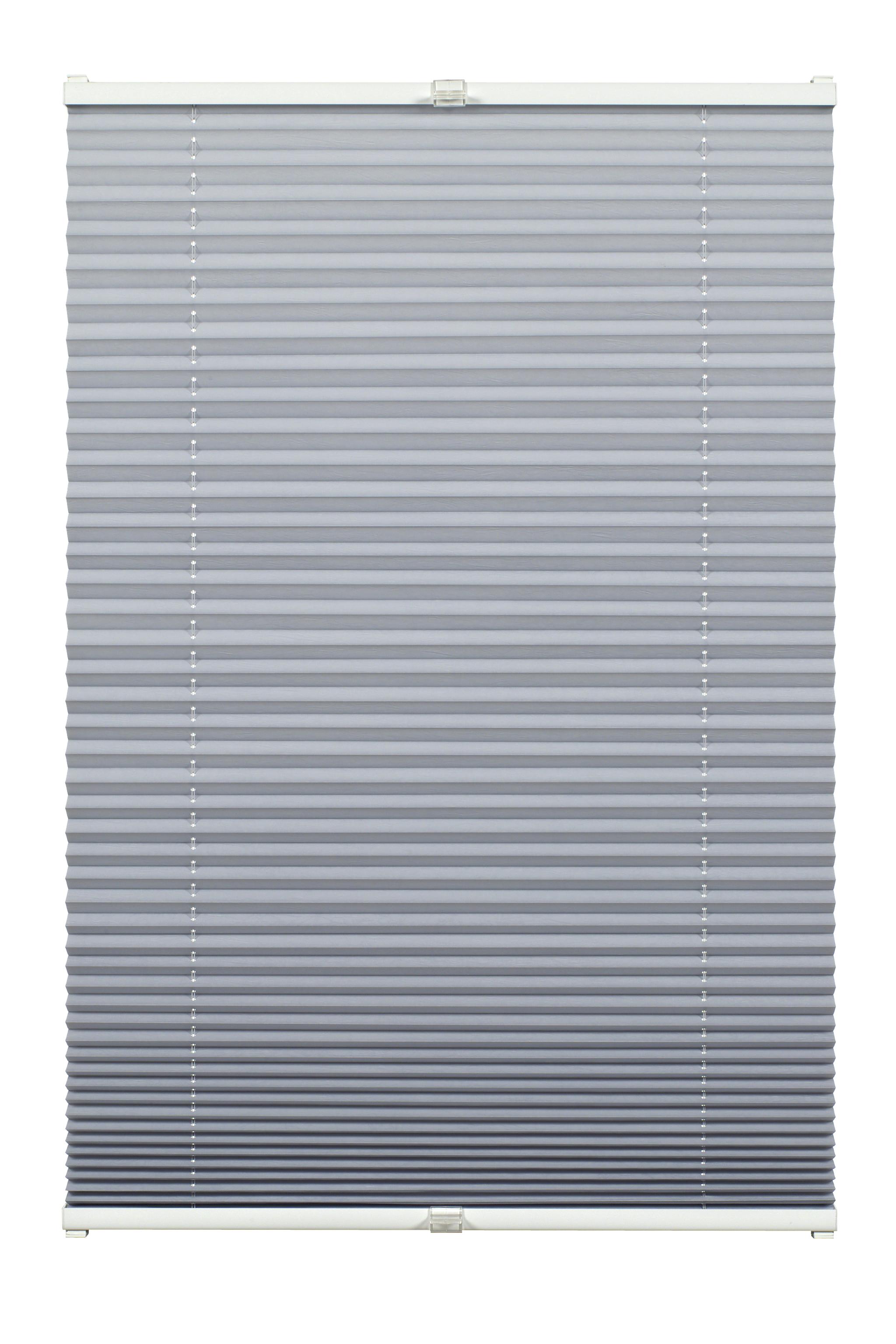 slimfix plissee grau 60 x 130 cm 91 21406013. Black Bedroom Furniture Sets. Home Design Ideas
