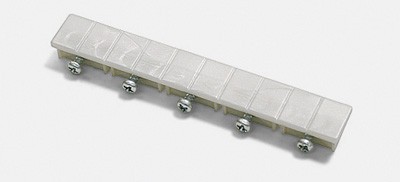 endst ck f r 5 lfg schienen wei 1 paar 12526. Black Bedroom Furniture Sets. Home Design Ideas