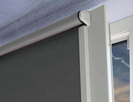 seitenprofil f r rollo easyfix wei 150 cm 1 paar 12930. Black Bedroom Furniture Sets. Home Design Ideas