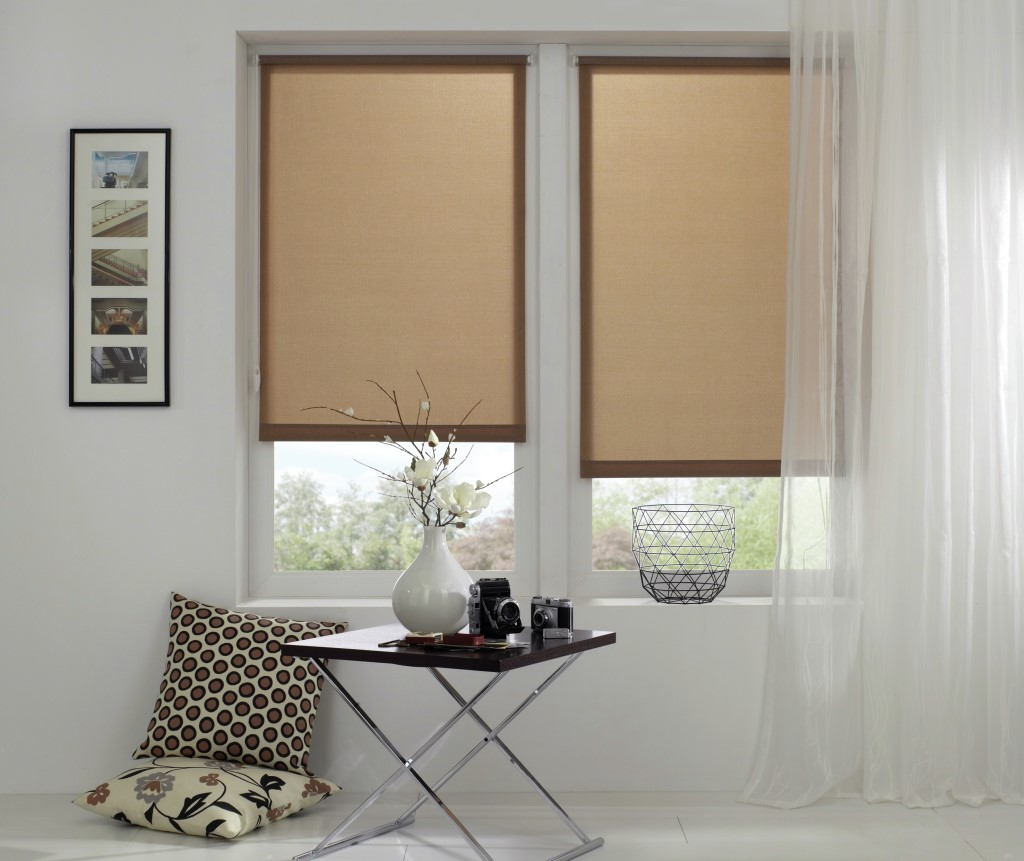 easyfix rollo napoli 737 braun 100 x 150 cm 32084. Black Bedroom Furniture Sets. Home Design Ideas