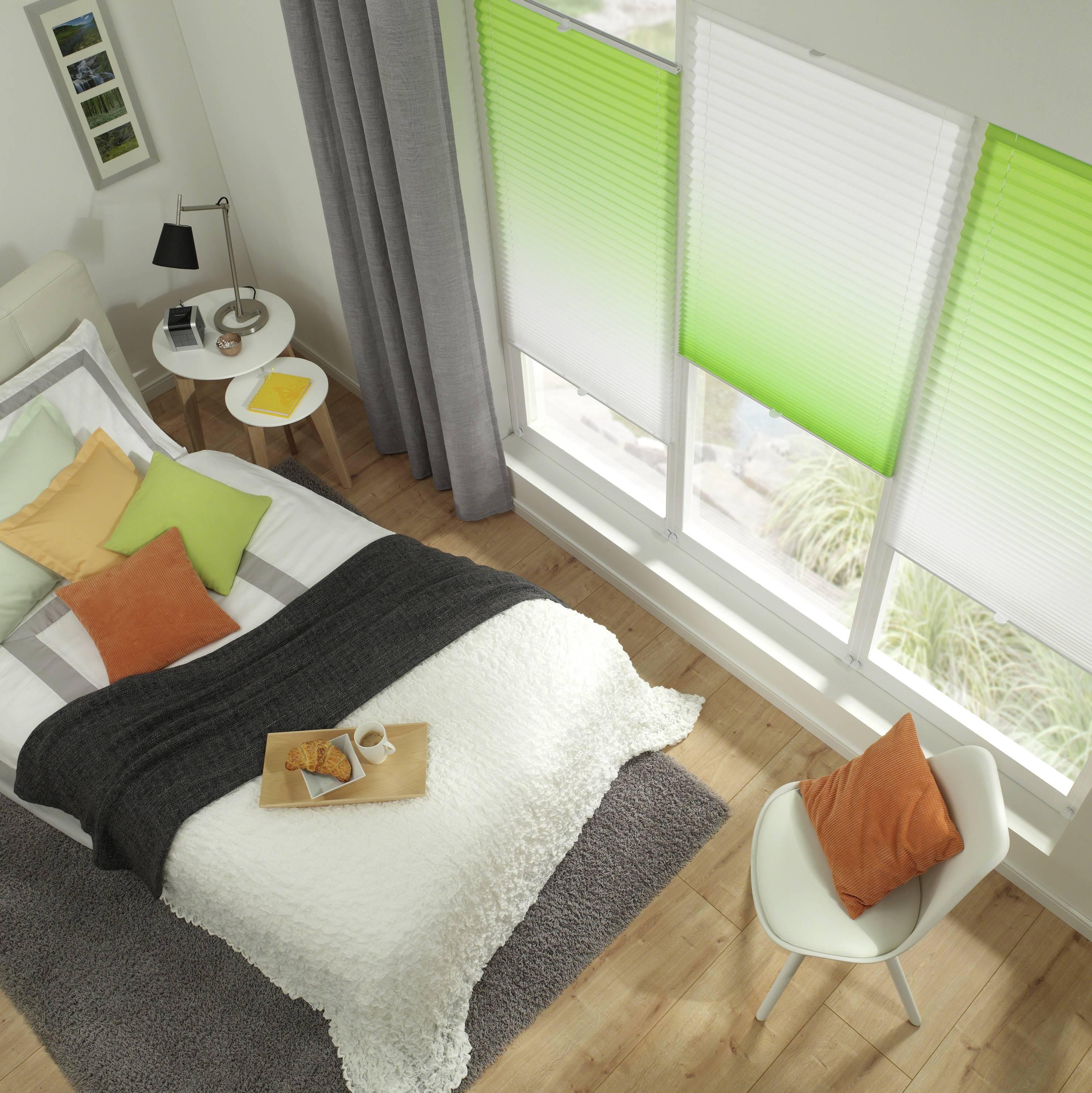 easyfix plissee ombr gr n 60 x 130 cm 32123. Black Bedroom Furniture Sets. Home Design Ideas