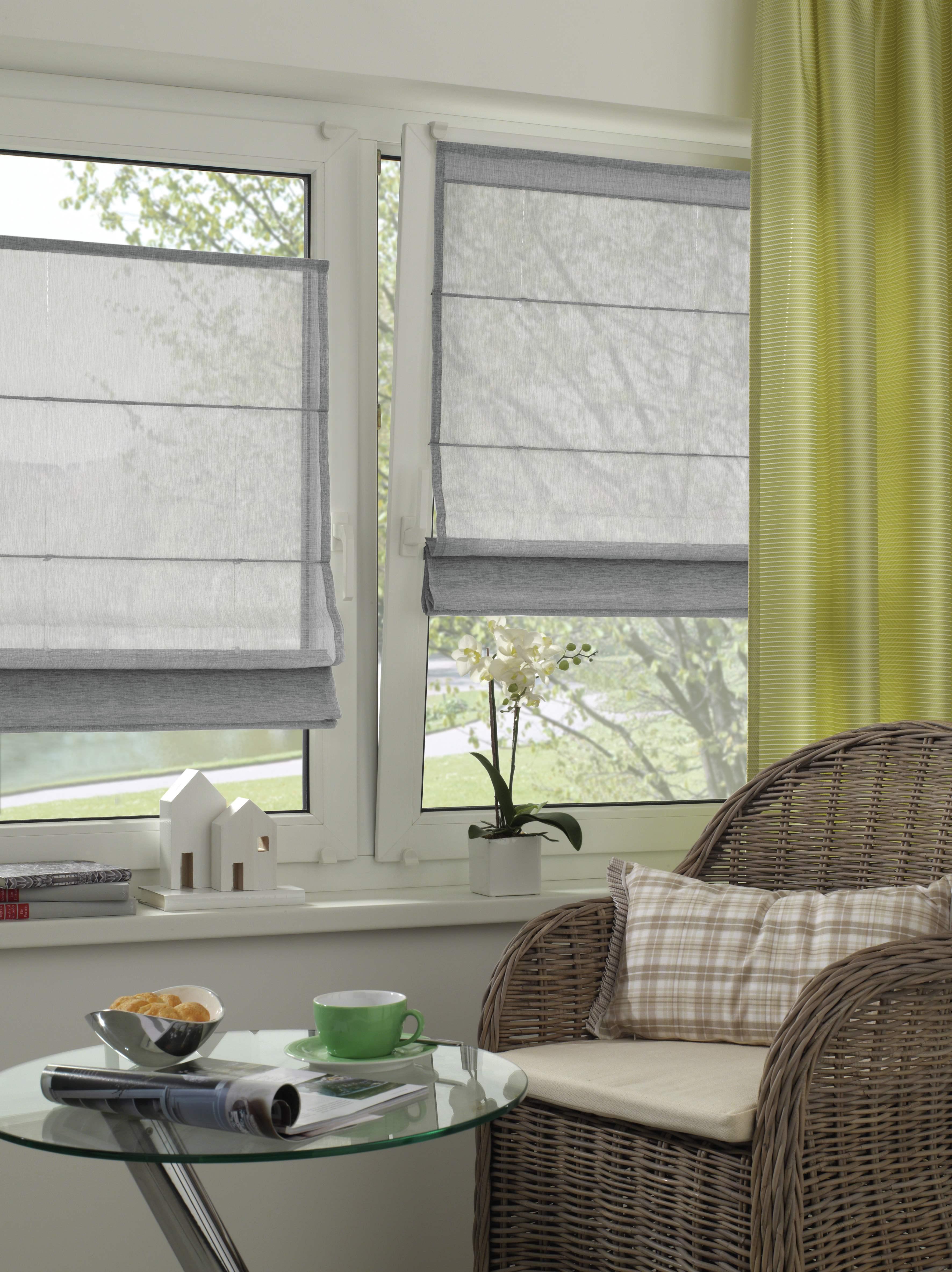 easyfix raffrollo struktur grau 100 x 140 cm 32416. Black Bedroom Furniture Sets. Home Design Ideas