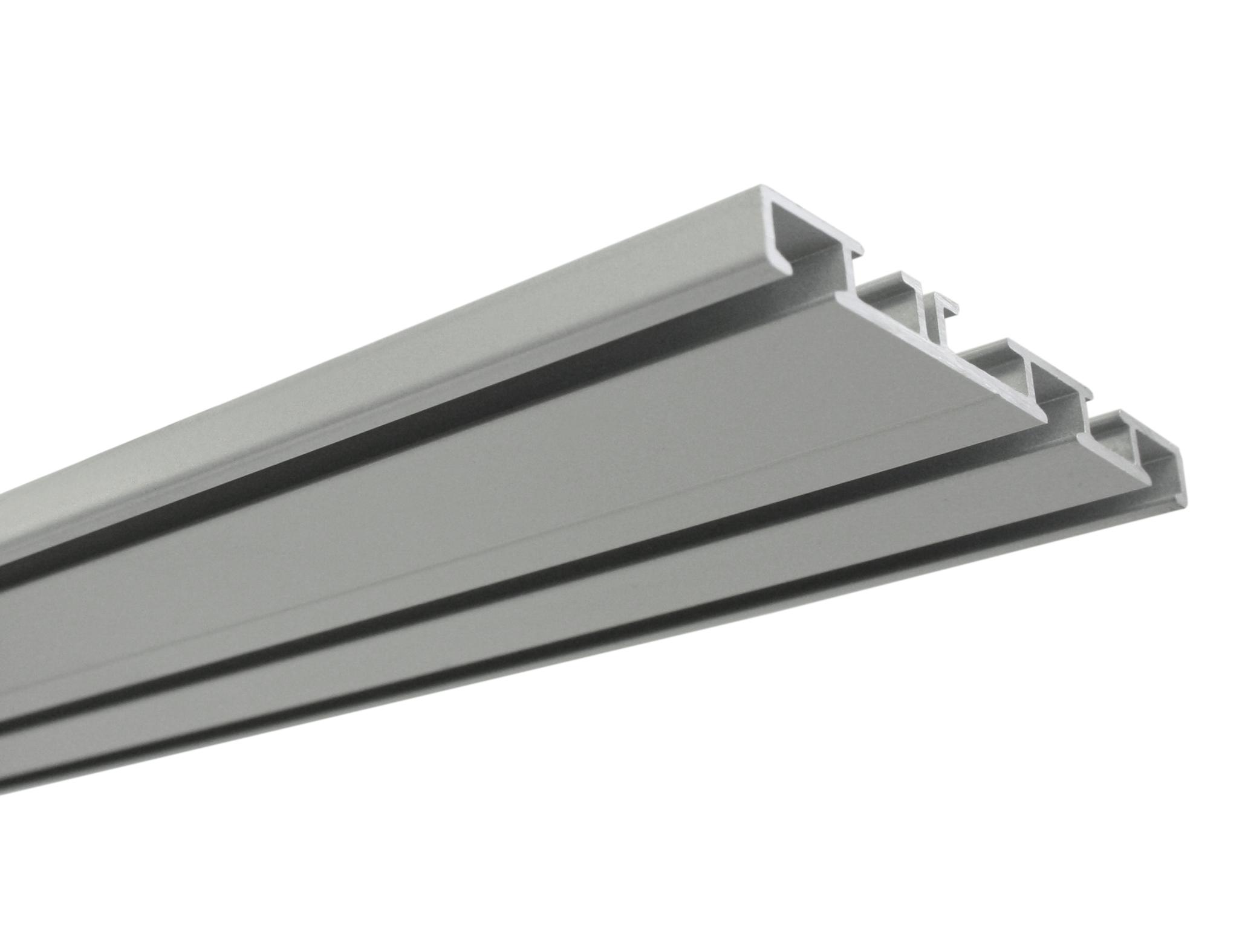 Bekannt Vorhangschiene 3-läufig aluminium 150 cm-31619 OJ86