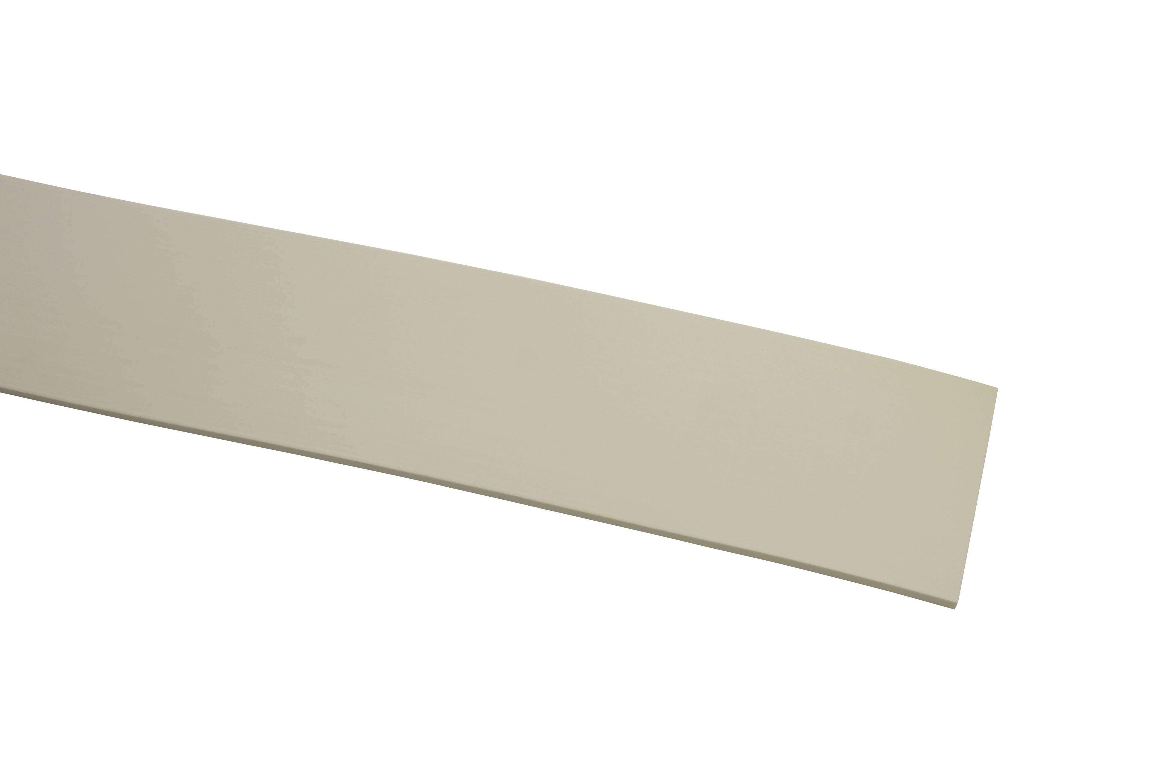 kunststoff blende wei 5 cm 25 meter rolle 8480. Black Bedroom Furniture Sets. Home Design Ideas
